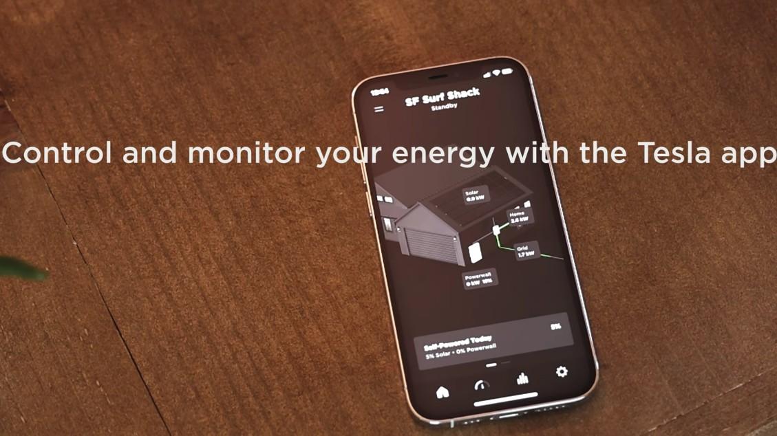 Tesla Energy представила обновленный интерфейс мобильного приложения