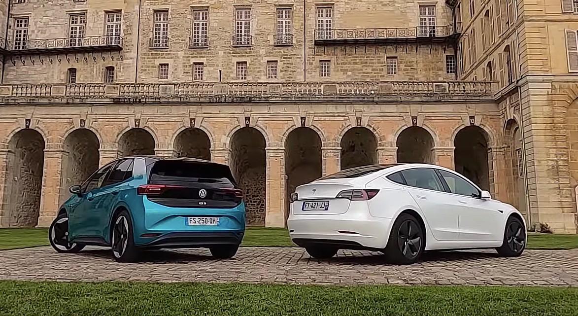 Volkswagen ID.3 выгодно отличается от Tesla в разобранном UBS