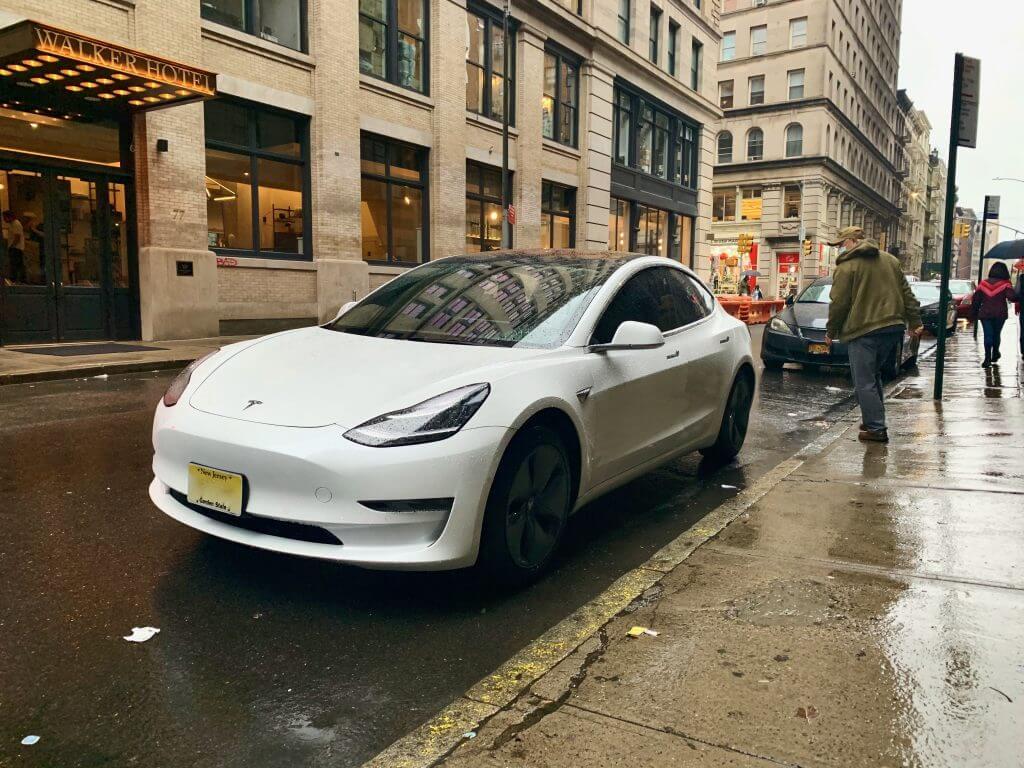 Tesla Model 3 in NYC