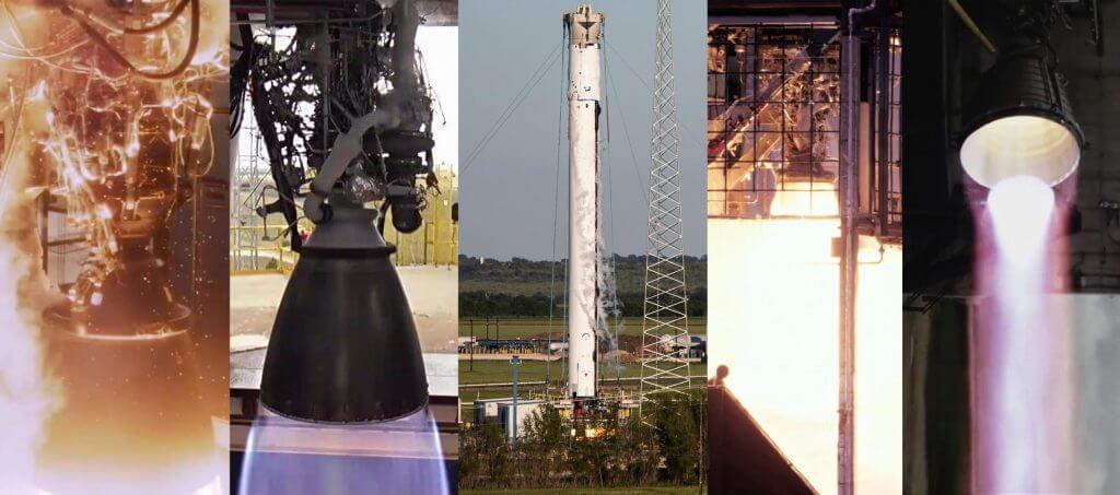 Тестовый штаб SpaceX в Техасе запускает десяток ракетных двигателей Falcon, Starship за шесть часов