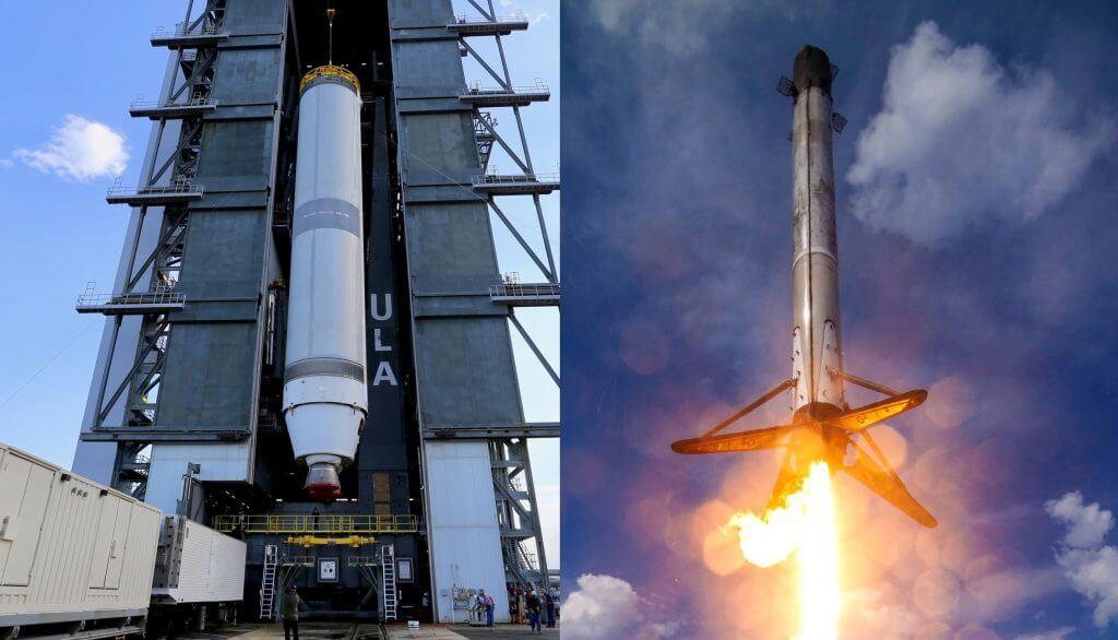 SpaceX Falcon 9 сокрушает ракету следующего поколения ULA Vulcan по стоимости в первом конкурсе