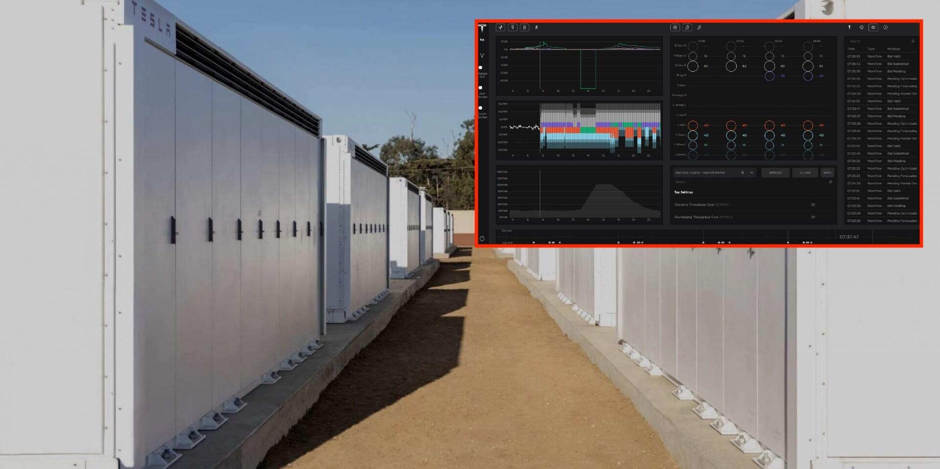 «Автопилот для сетевых батарей» Tesla теперь управляет накоплением энергии более 1,2 ГВтч.