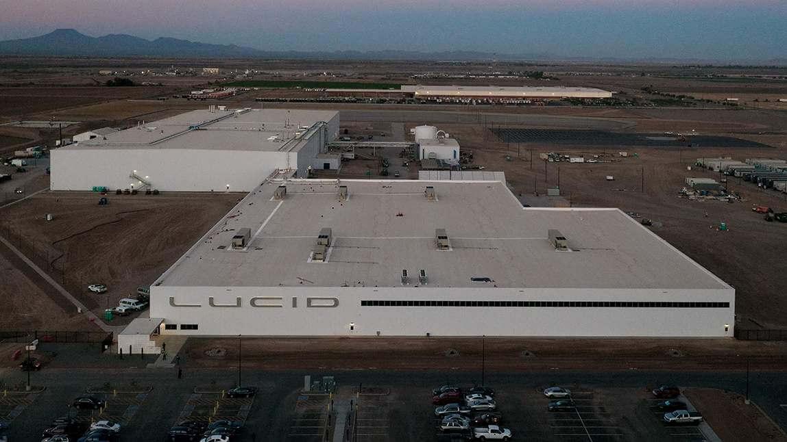 Lucid Motors получила разрешение на строительство второй очереди завода Casa Grande