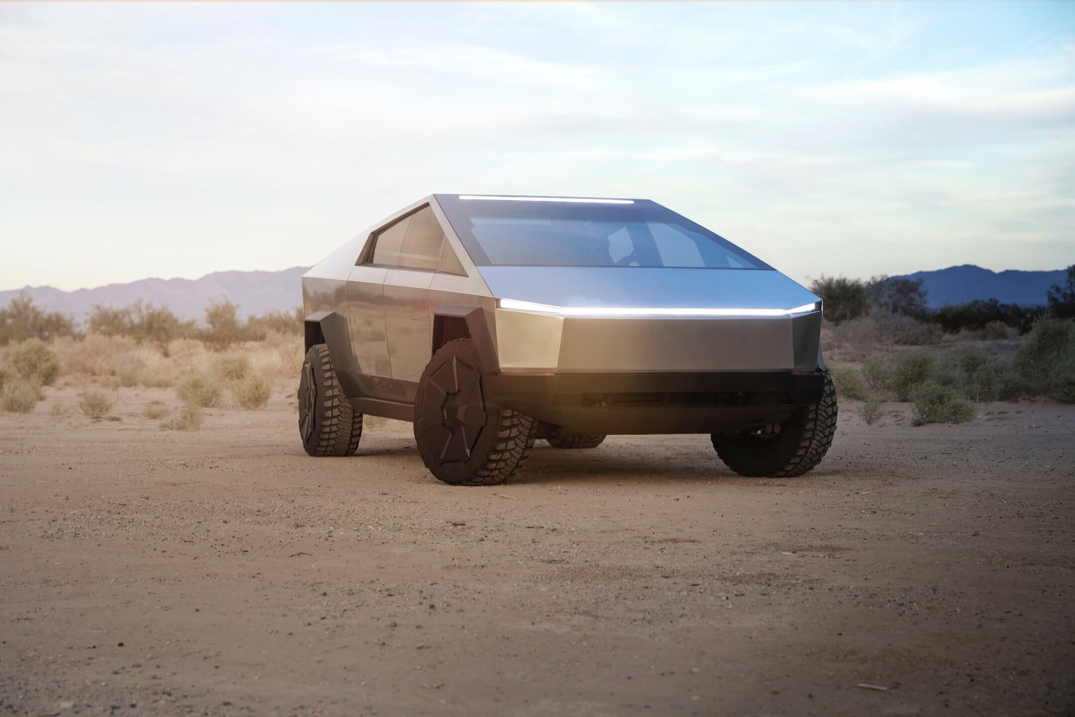 Маск сказал, что окончательный дизайн Cybertruck `` выглядит хорошо '' - Tesla Motors Club