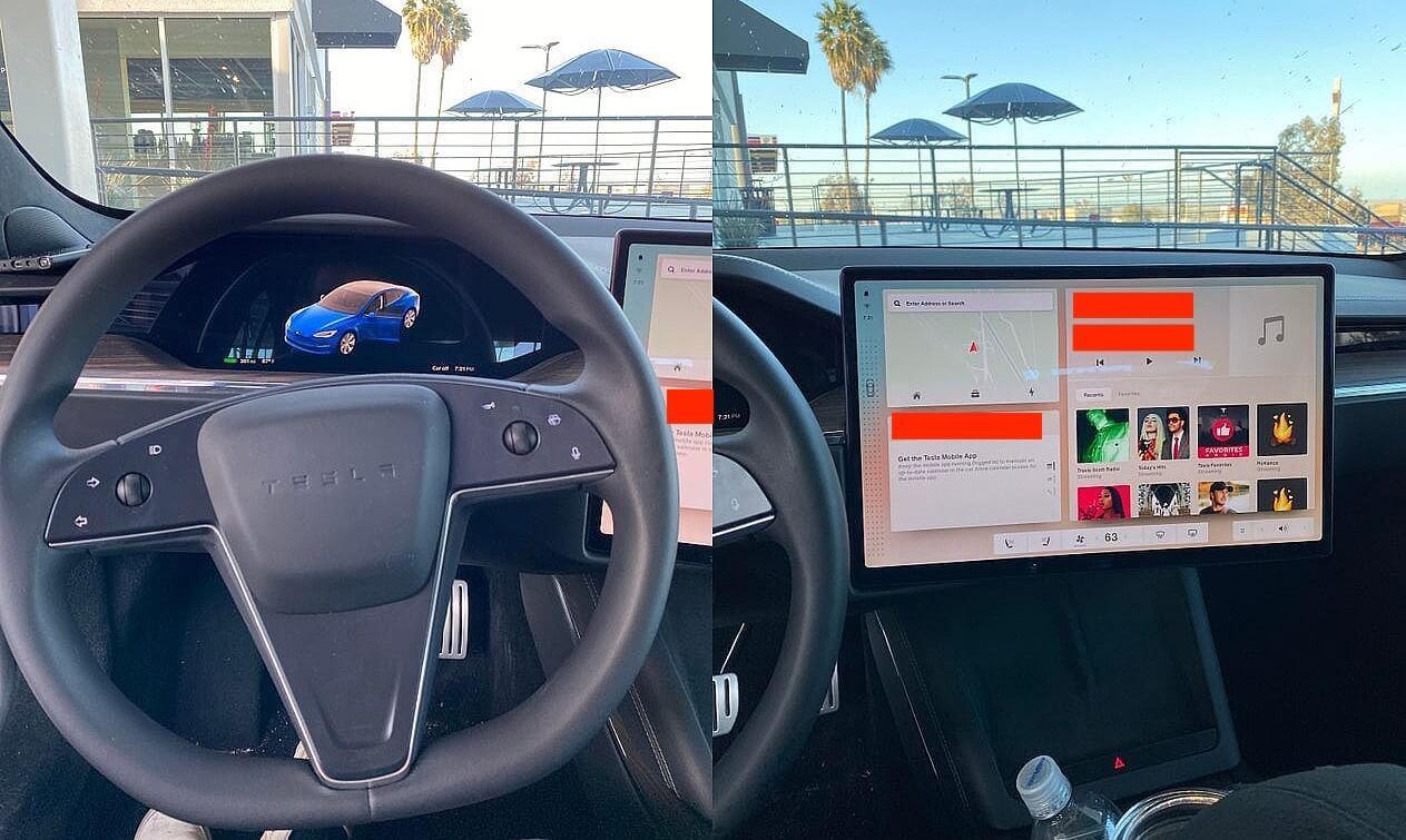 Обновление Tesla Model S изнутри показывает пользовательский интерфейс V11, «Режим перетаскивания», «Smart Shift» и многое другое.