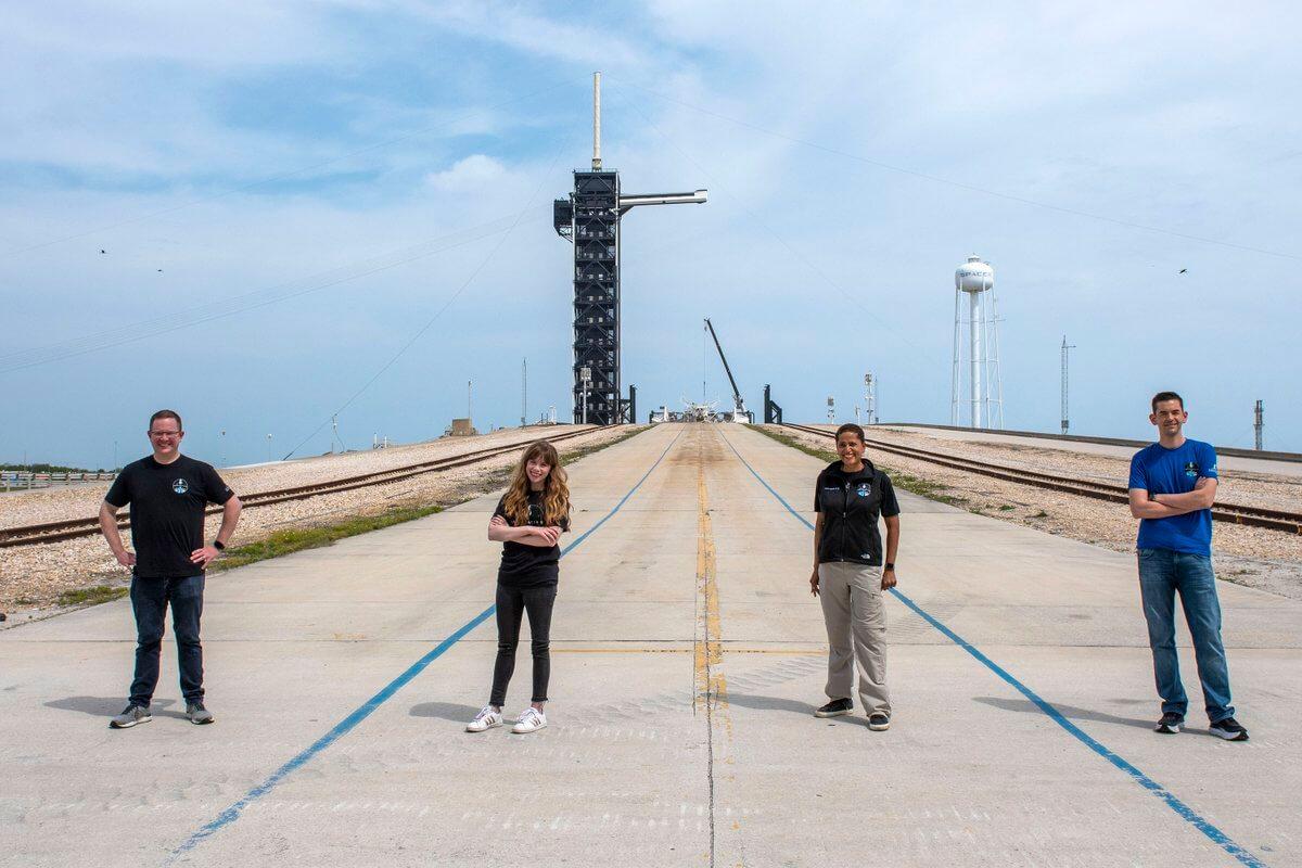 SpaceX, миссия Shift4 Inspiration4 раскрывает двух последних членов экипажа