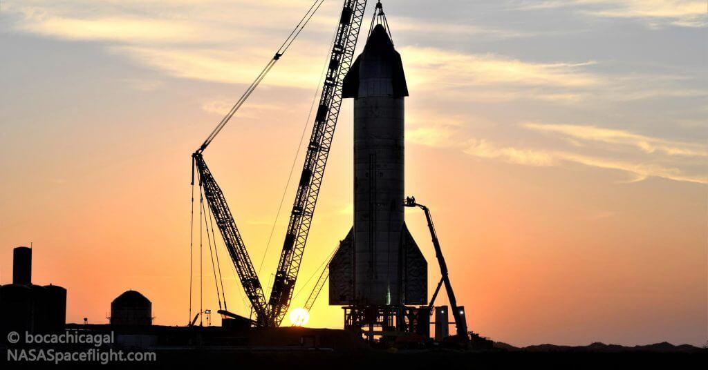 SpaceX планирует запуск Starship на следующий день после запланированного испытательного пожара двигателя Raptor