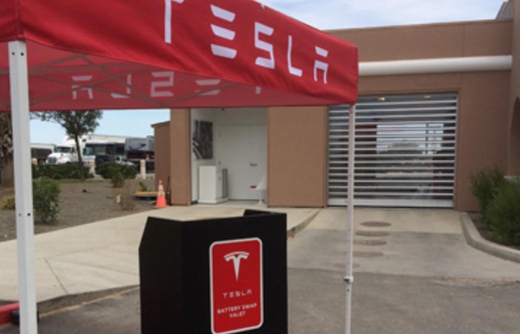 Tesla опровергает сообщения о том, что будет использовать методы замены батарей