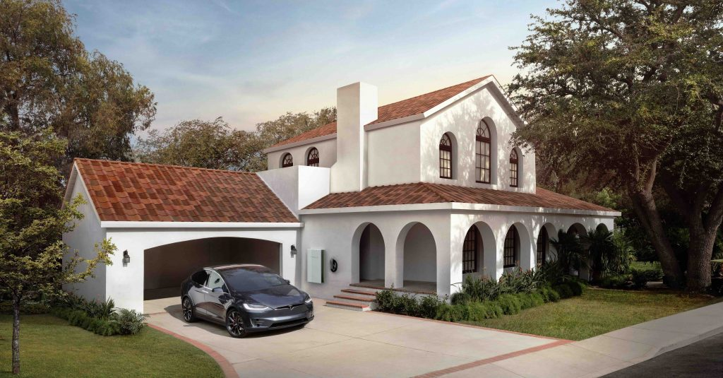 Tesla приближается к Tuscan, Slate Solar Roof черепицы с замаскированным патентом на солнечную панель