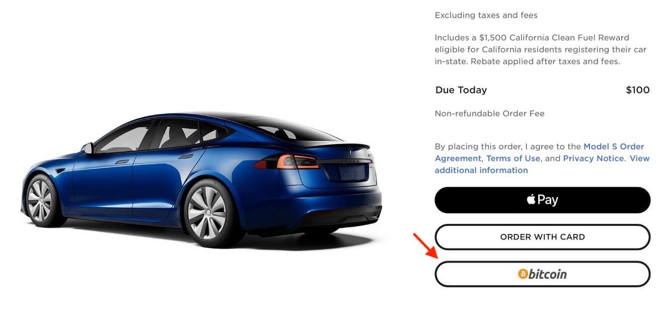 Tesla запускает биткойн-платежи для заказов автомобилей в США и других странах