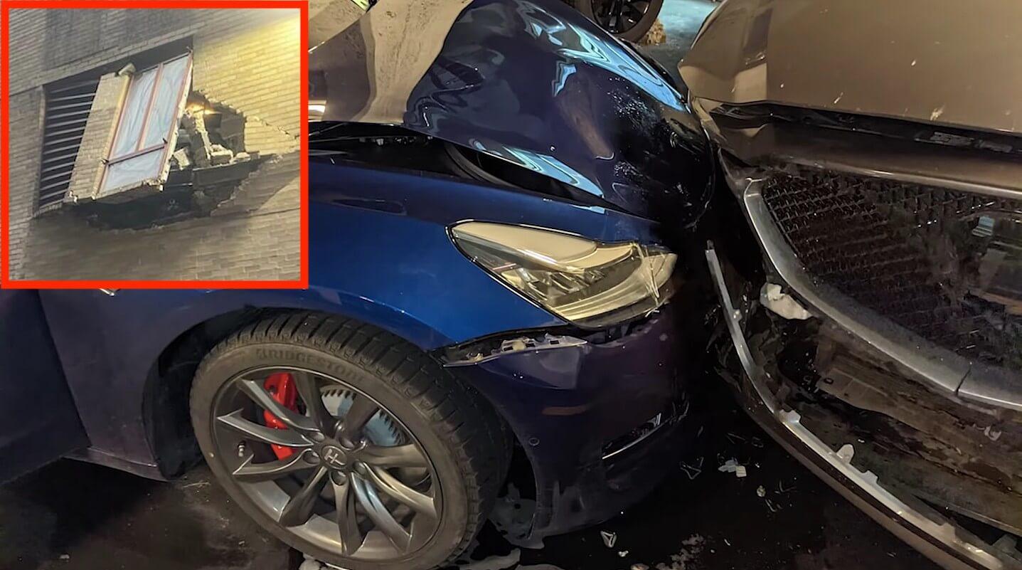 Владелец Tesla вовлечен в судебную тяжбу на сумму более 100 тысяч долларов из-за того, что гараж обвинил автопилот в аварии Model 3