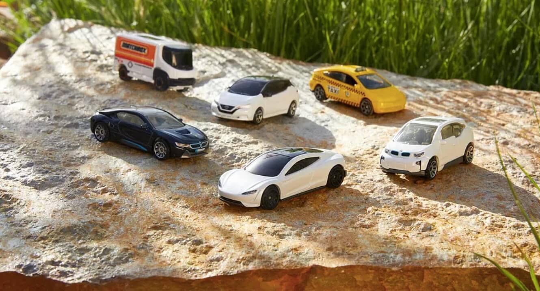 Tesla Roadster становится первым из новой линейки экологически чистых игрушечных автомобилей Matchbox