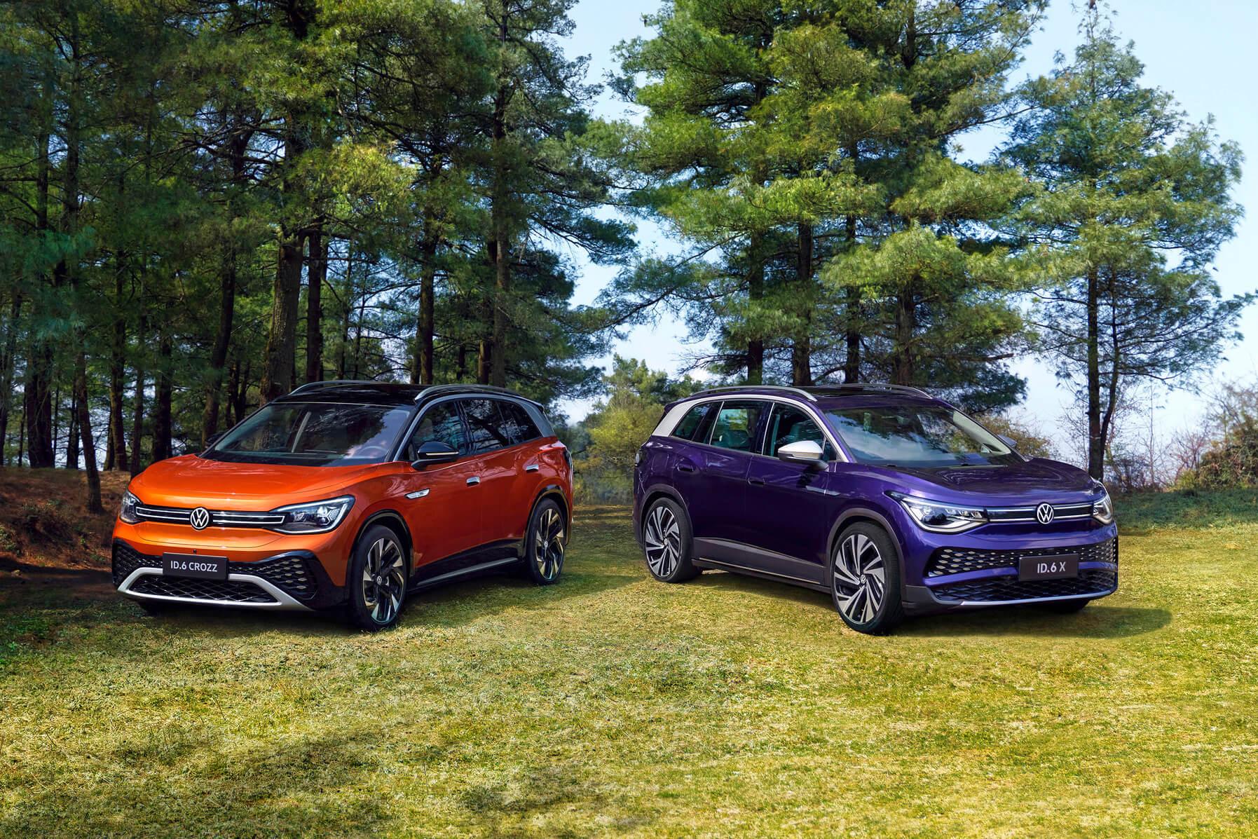 Volkswagen запускает внедорожник ID.6 в Китае и только в Китае