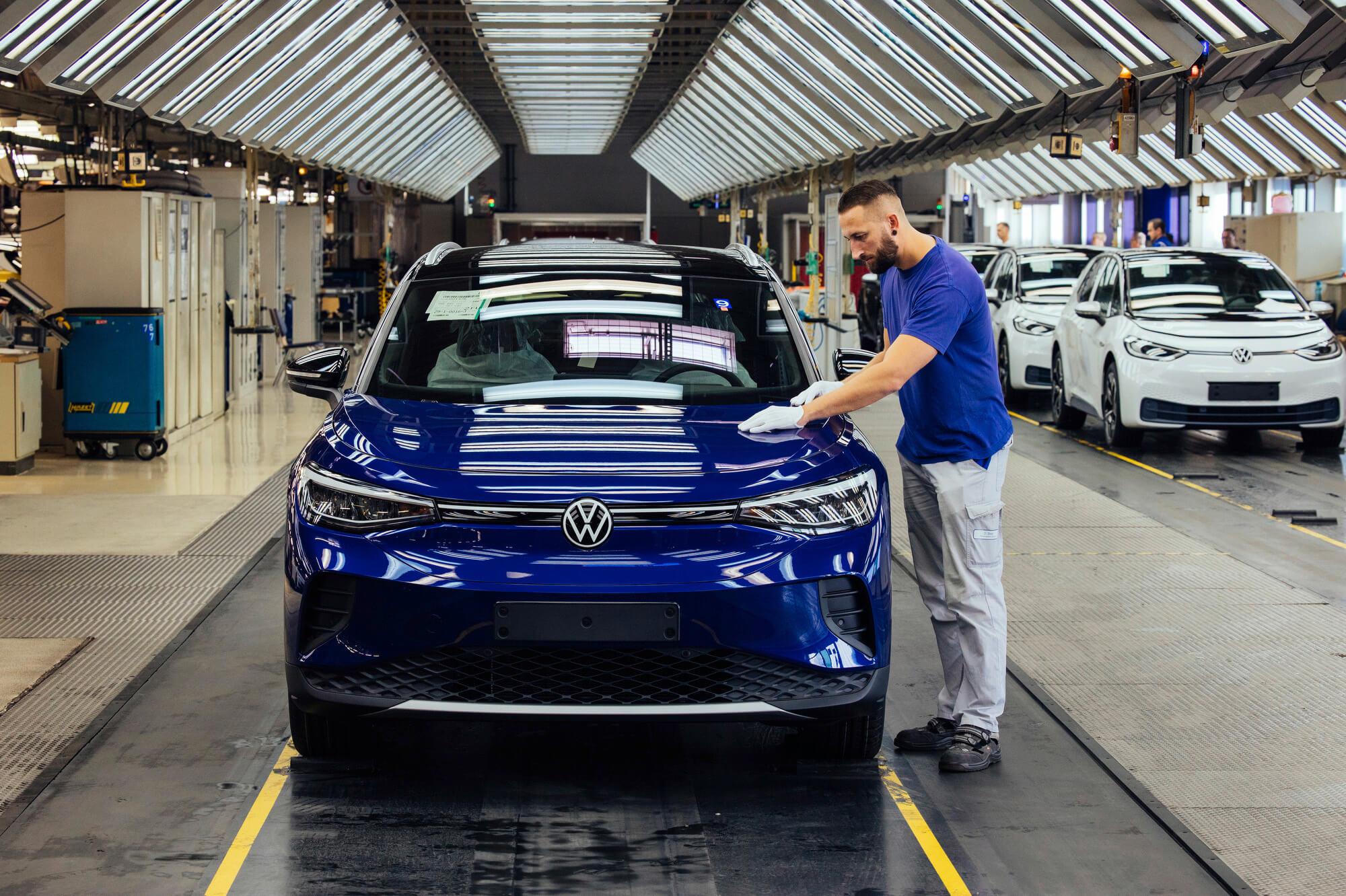Volkswagen ID.4 стал победителем конкурса World Car of the Year 2021 года
