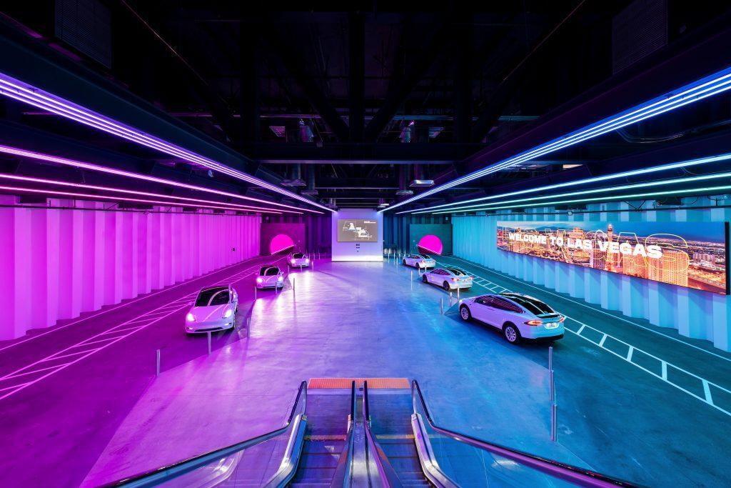 Boring Company Las Vegas Convention Center Loop встречает первых посетителей в июне