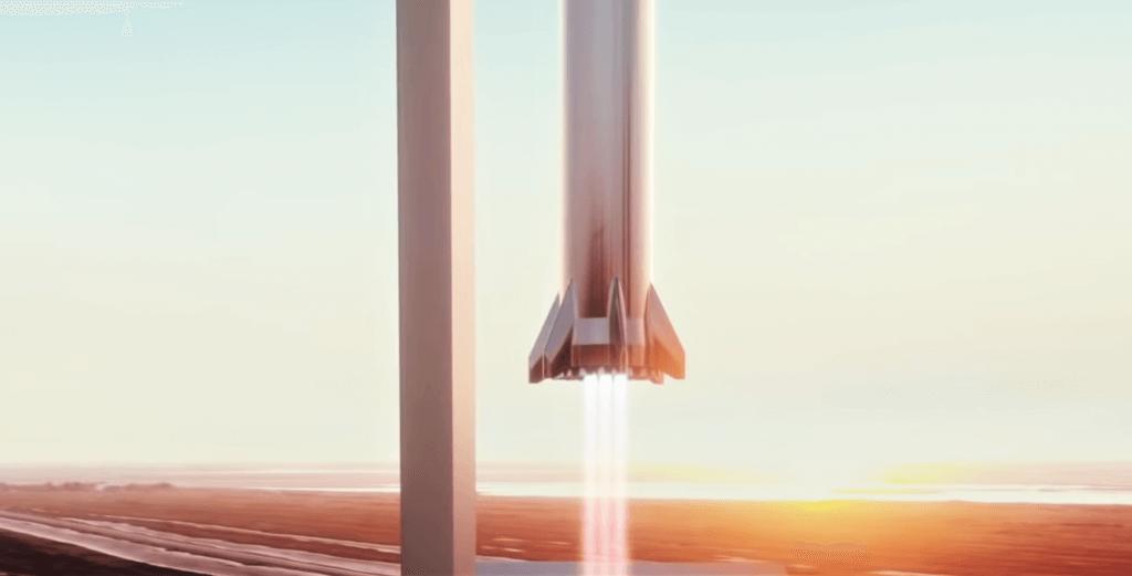 SpaceX может поставить Starship на Super Heavy с «механическими руками»