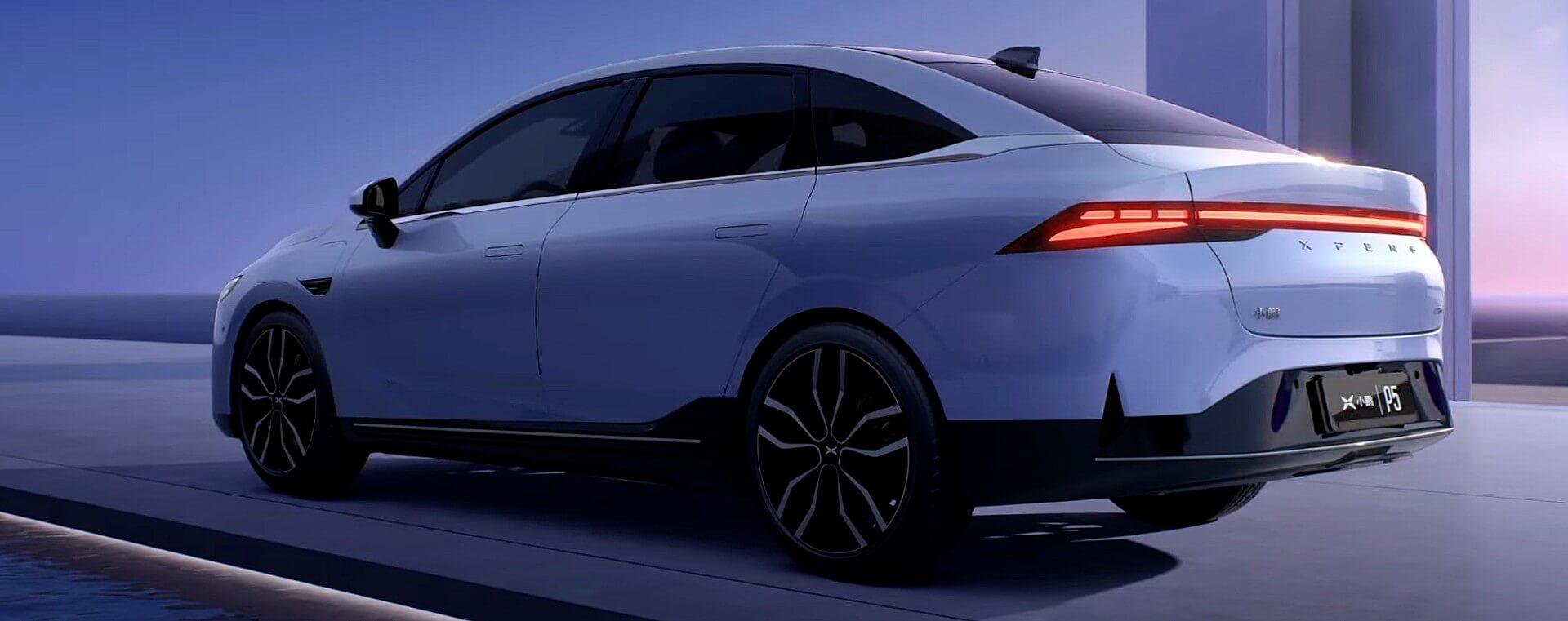 Xpeng представляет новый доступный седан P5, который составит конкуренцию Tesla Model 3