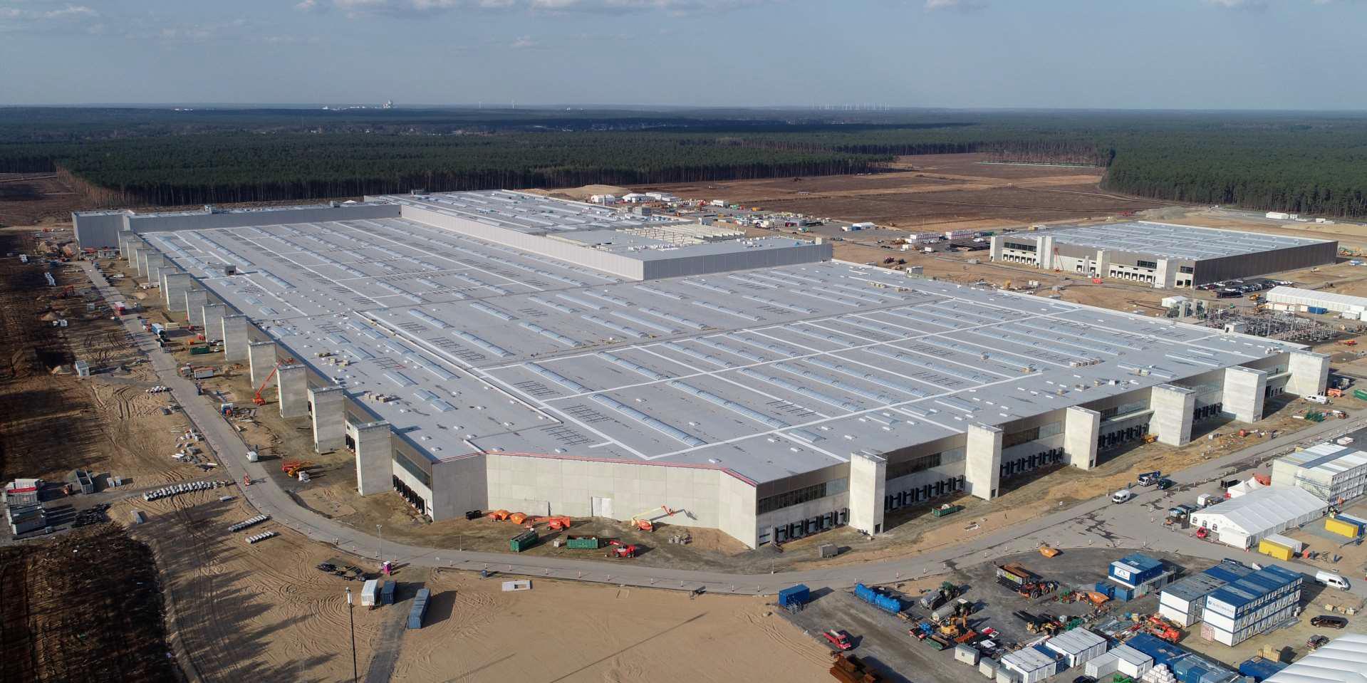 Завод по производству аккумуляторов Tesla 4680 в Германии не должен задерживать начальные даты производства Giga Berlin