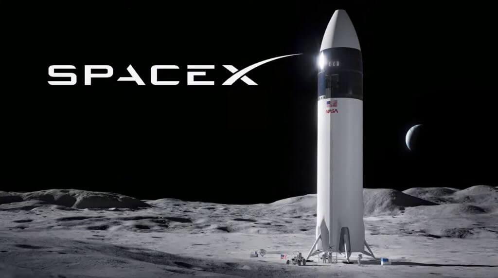 Звездолет SpaceX вернет человечество на Луну в ошеломляющем решении НАСА