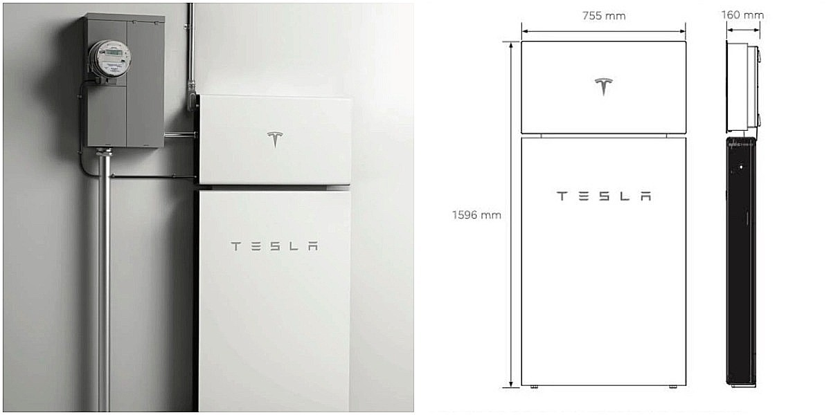 Tesla представляет спецификации своей новой системы хранения энергии Powerwall +