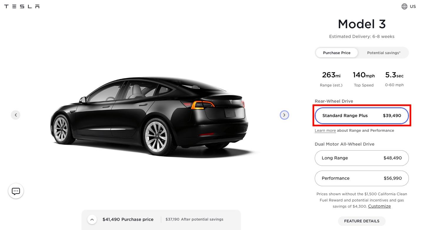 Tesla снова поднимает цены на Model 3 и Model Y после продажи производственных мощностей во втором квартале