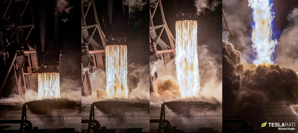 SpaceX планирует четвертый запуск и посадку Falcon 9 Starlink через две недели