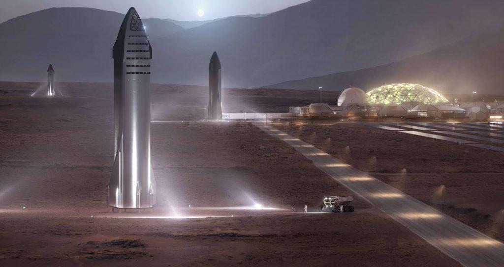 SpaceX может посадить Starship на Марс в 2024 году, говорит Илон Маск