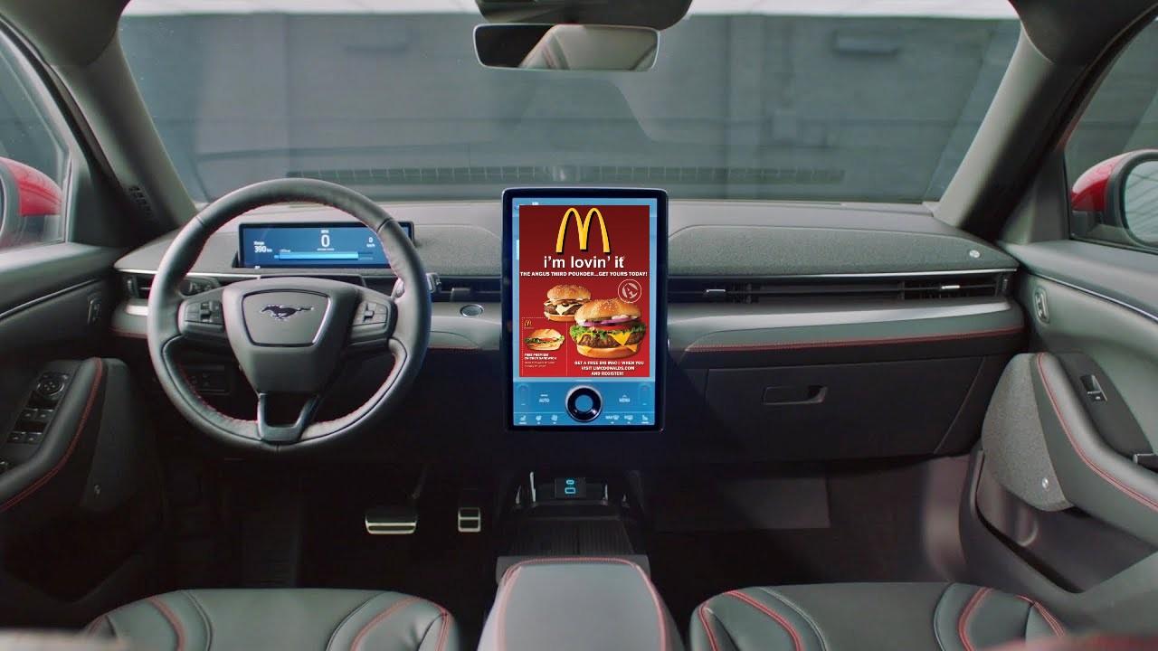 Ford рассматривает автомобильную рекламу с использованием автомобильных камер в новом патенте