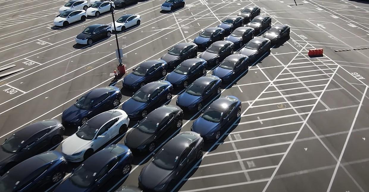 Автопарк Tesla Model S на заводе во Фремонте растет в преддверии презентации компании Plaid