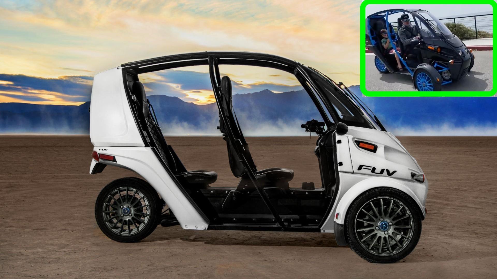 Главный конструктор Tesla пробует FUV Арчимото