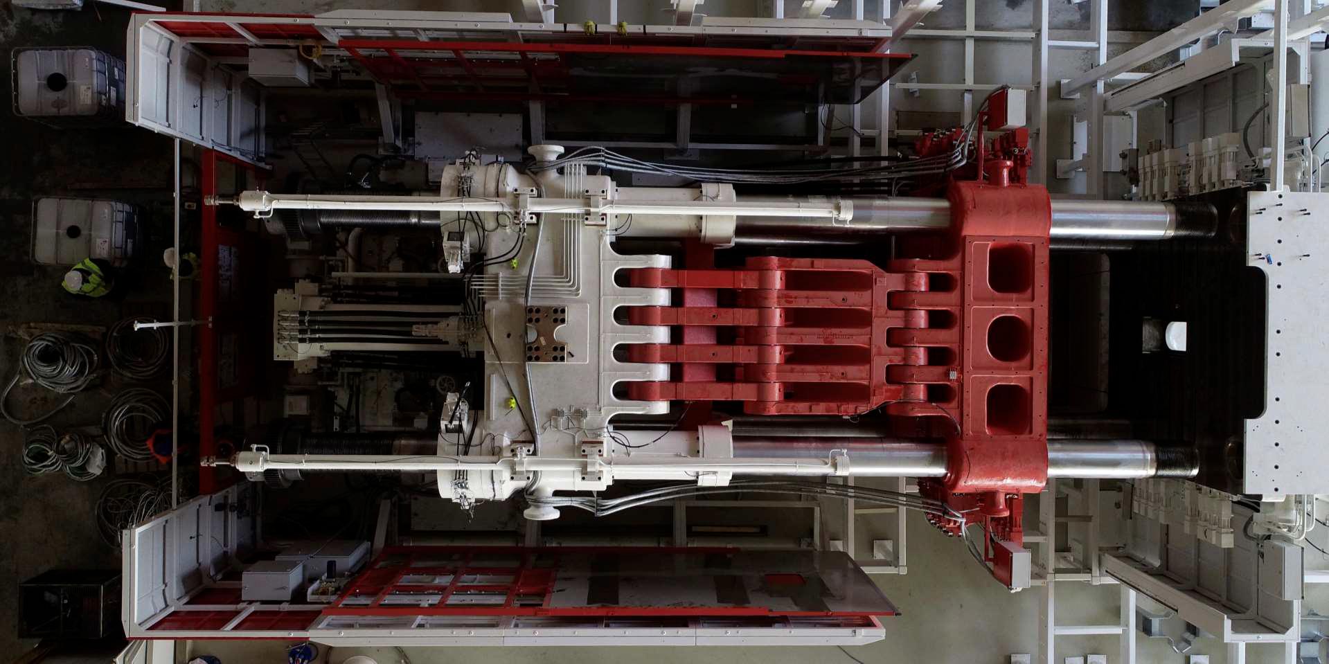 Поставщик Tesla Giga Press строит загадочный пресс на 9000 тонн в Китае