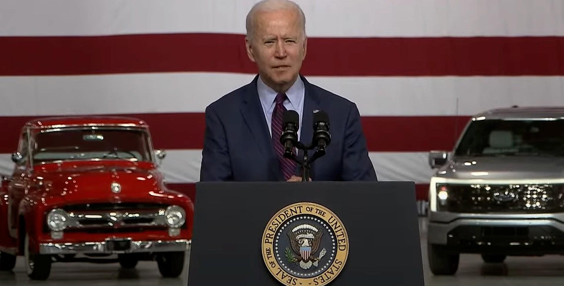 Речь президента Джо Байдена о бессмысленном электромобиле Tesla слишком поверила Форду [Opinion]