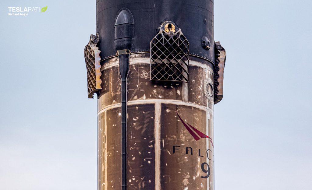 Самый дешевый бустер Falcon 9 от SpaceX вернулся в порт после повторного использования записи