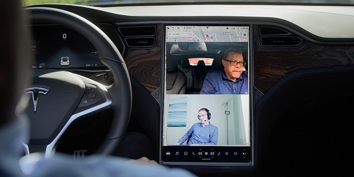 Сервис видеоконференцсвязи Tesla показывает, что разработчики готовы к Tesla App Store
