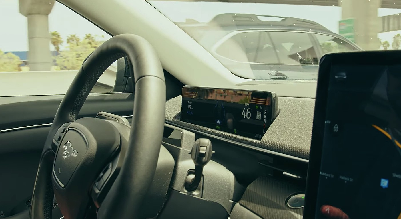 Система мониторинга водителя Ford Mach-E Co-Pilot360 нуждается в обновлении как можно скорее
