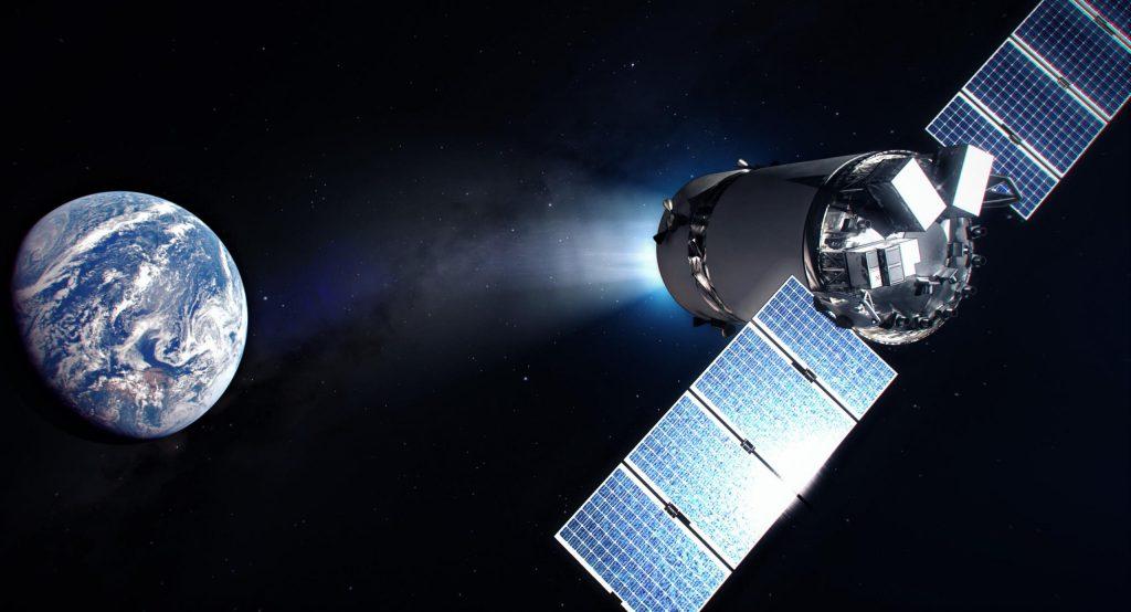 SpaceX Dragon XL может использоваться как кабина экипажа для лунной космической станции