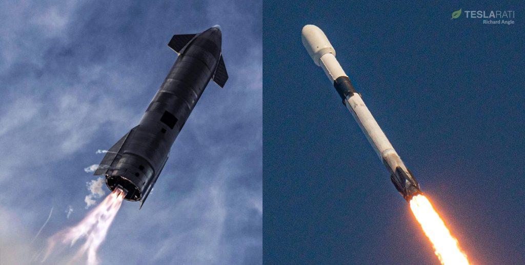SpaceX планирует запуск Starlink, а запуск Starship с интервалом в несколько часов