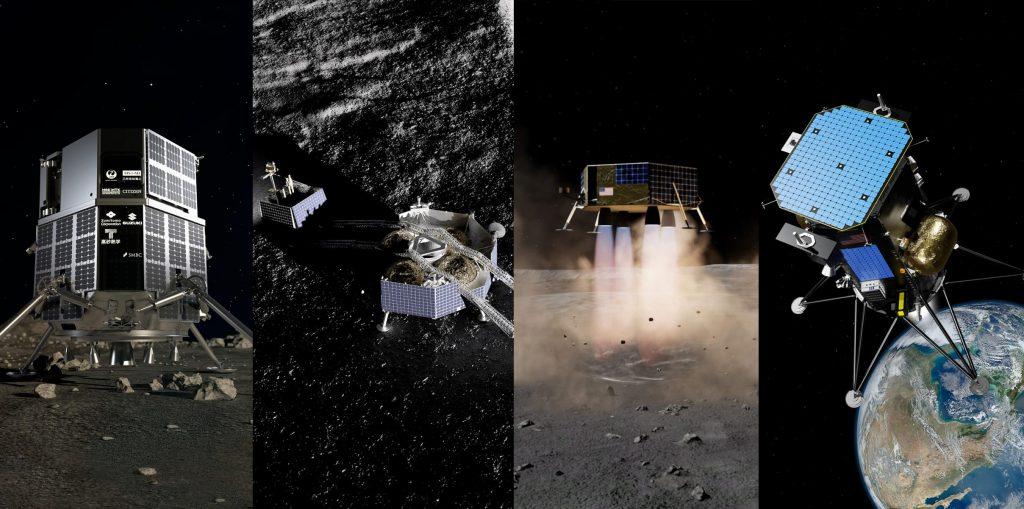 SpaceX планирует запустить шесть коммерческих посадочных устройств на Луну после последней победы