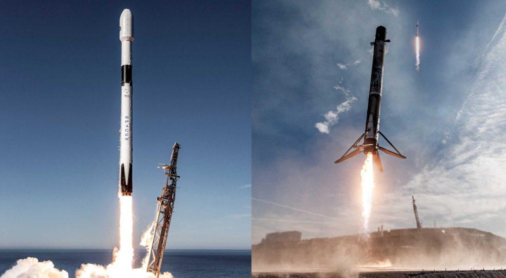 SpaceX запускает ракету Falcon 9 для пятого запуска Starlink за четыре недели