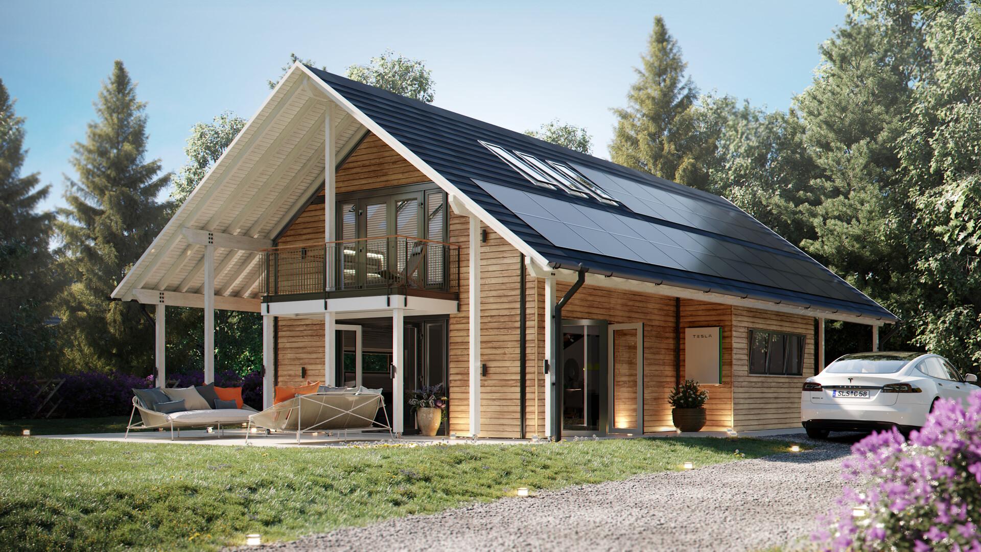 Tesla Energy позитивно оценивает развитие своих солнечных батарей и батарей