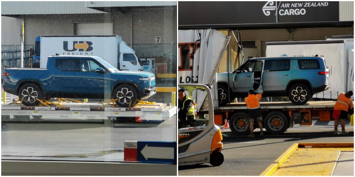 Rivian отправляет свои R1T, R1S и электрический фургон в Новую Зеландию для испытаний в холодную погоду.