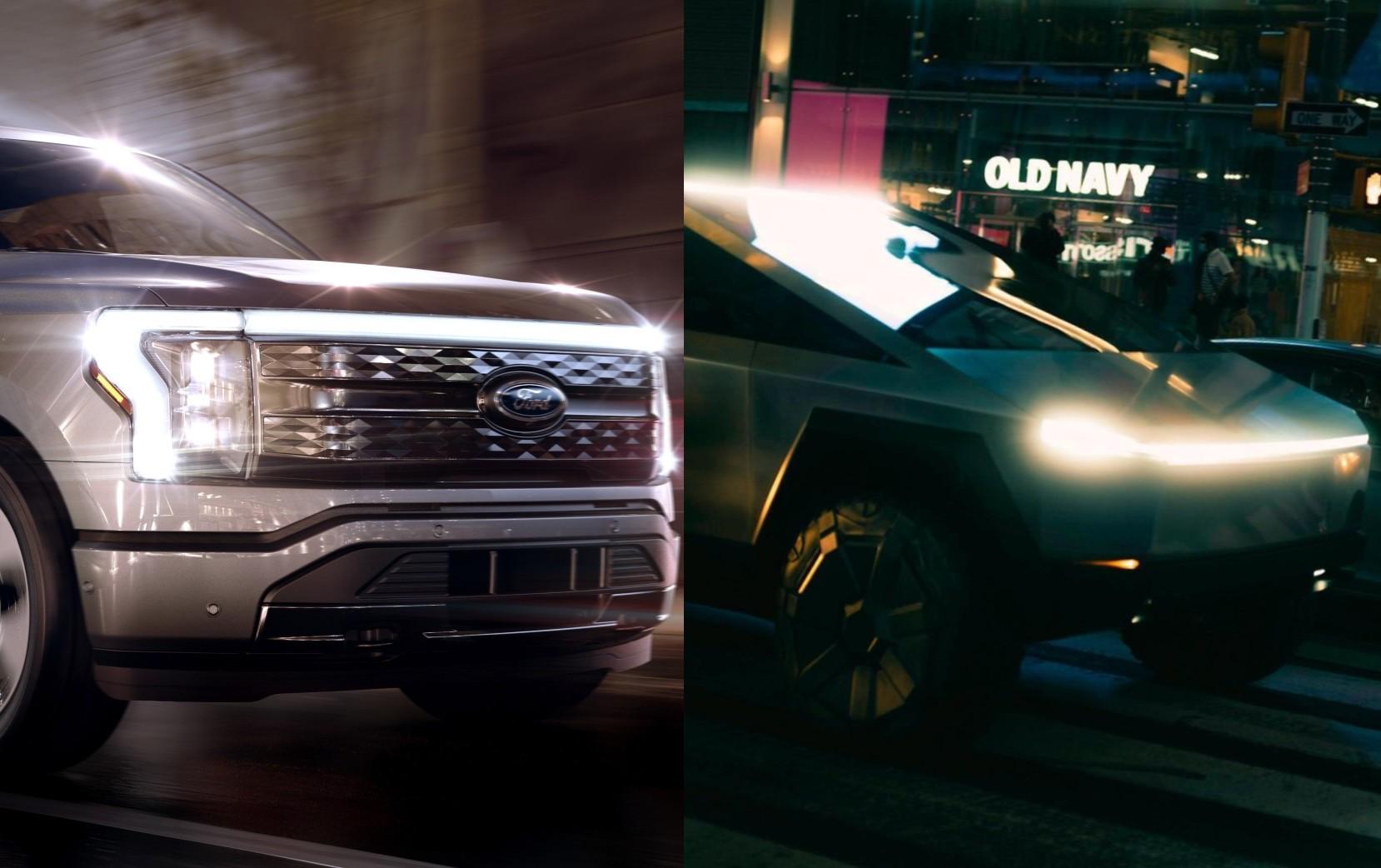 Детали Ford F-150 Lightning демонстрируют удивительную премию по сравнению с Tesla Cybertruck