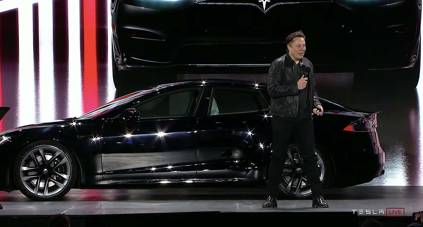 Canaccord снизила целевую цену Tesla (TSLA) после выпуска Model S Plaid