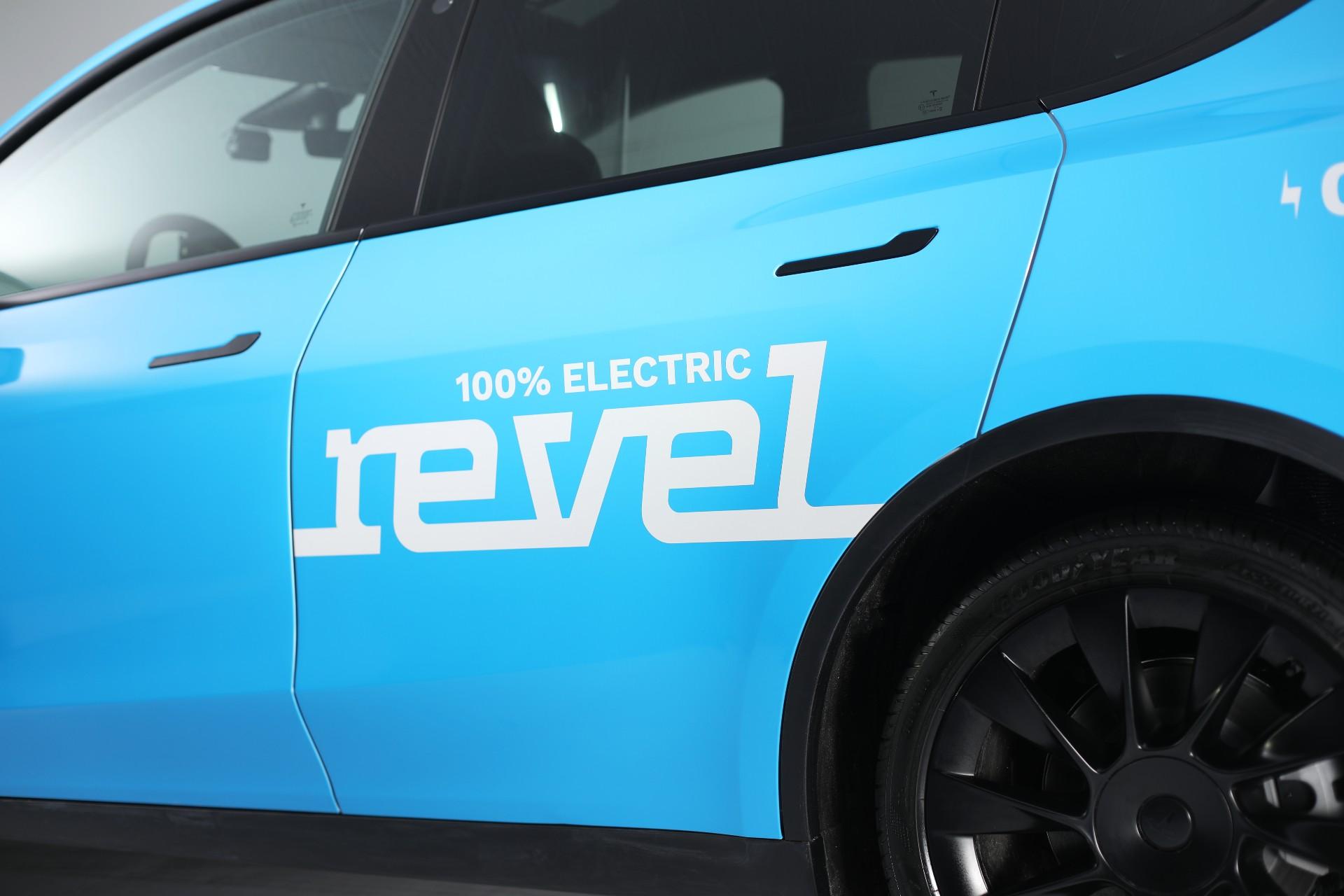 Объяснение ситуации с такси Revel Tesla Model Y
