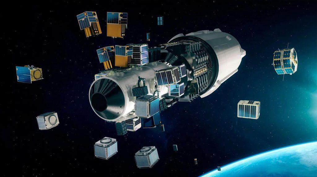 Ракета SpaceX готова ко второму совместному запуску с более чем 100 небольшими спутниками