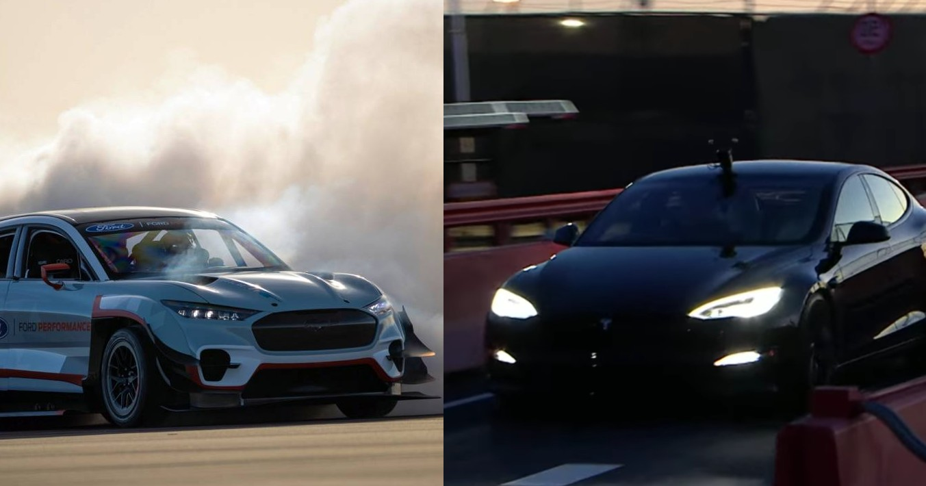 Tesla Model S Plaid получает вызов от Ford Mustang Mach-E 1400