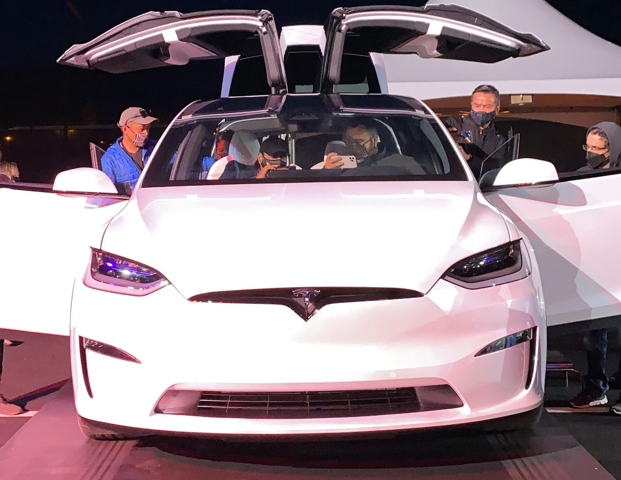Tesla Model X Plaid появится на мероприятии по доставке Model S Plaid