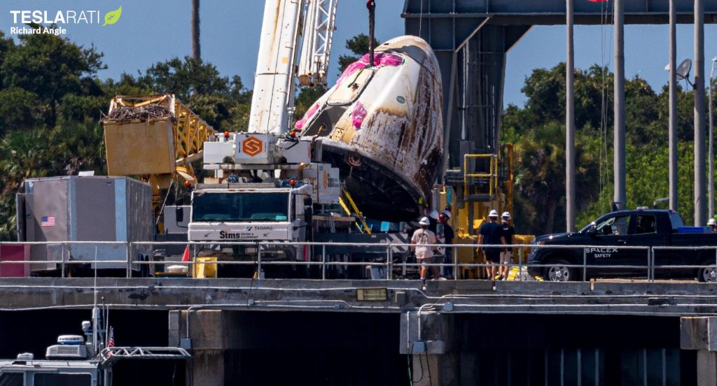 SpaceX восстанавливает второй модернизированный космический корабль Cargo Dragon для повторного использования в будущем