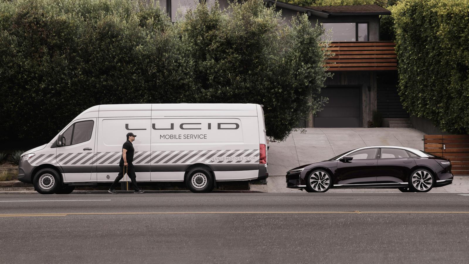 Lucid Motors выделяет варианты обслуживания и детали гарантии перед доставкой по воздуху