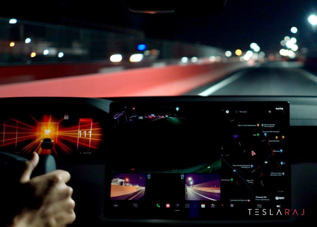 Илон Маск подтвердил окончательную дату выпуска Tesla FSD Beta 9